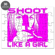 SHOOT LIKE A GIRL Puzzle