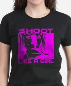 SHOOT LIKE A GIRL Tee