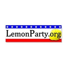 LemonParty.org Basic Car Magnet 10 x 3