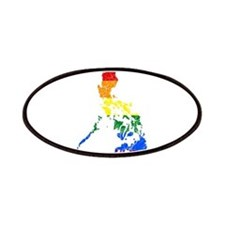 Philippines Rainbow Pride Flag And Map Patches