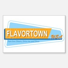 Fans of Flavortown Sticker (Rectangle)