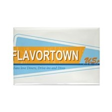 Fans of Flavortown Rectangle Magnet