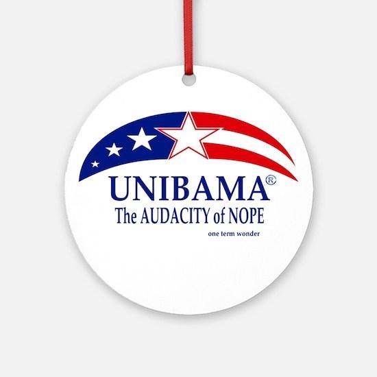 Audacity of NOPE Ornament (Round)