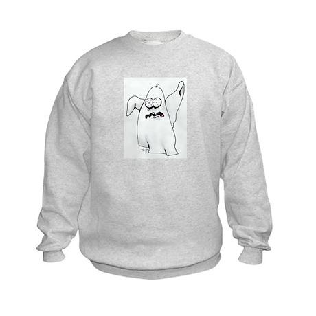 Scary Ghost Kids Sweatshirt