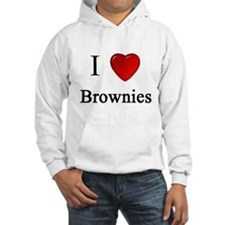 i love brownies heart magical magic Hoodie