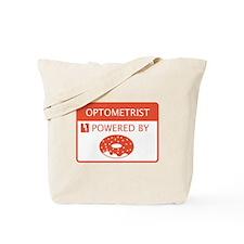 Optometrist Powered by Doughnuts Tote Bag
