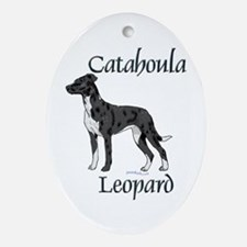 Catahoula Oval Ornament