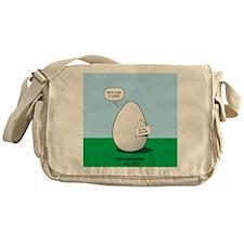 Eggoraphobia Messenger Bag