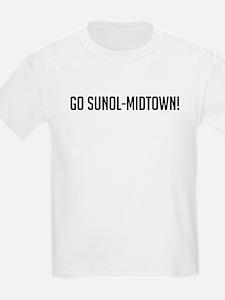 Go Sunol-Midtown Kids T-Shirt