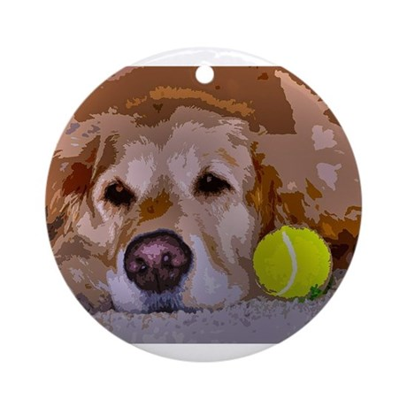 Golden Moment Ornament (Round)