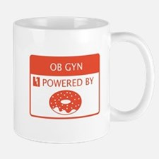 OB GYN Powered by Doughnuts Mug