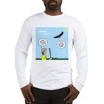 Hiking with an Eagle Long Sleeve T-Shirt