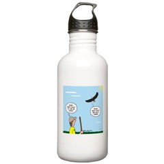 Hiking with an Eagle Water Bottle