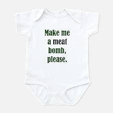 Meat Bomb Infant Creeper