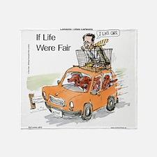 Romney Vs Irish Setters Throw Blanket