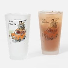 Romney Vs Irish Setters Drinking Glass