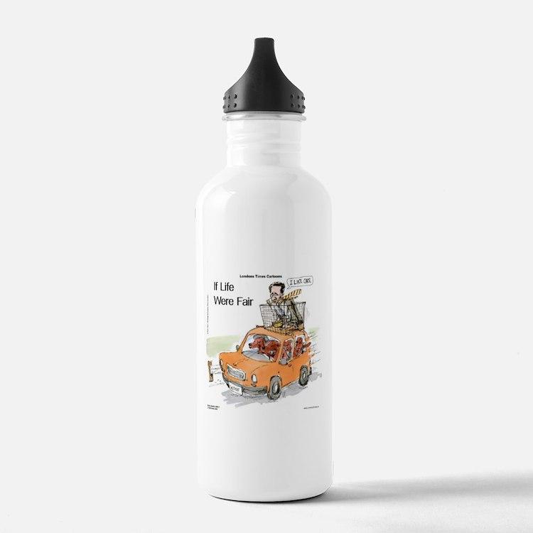 Romney Vs Irish Setters Water Bottle