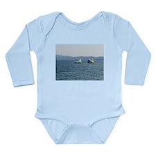 Sailing Race Long Sleeve Infant Bodysuit