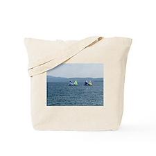 Sailing Race Tote Bag