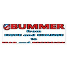 Obummer Fear and Recession Car Sticker