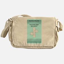 Towel Day - 42 Pips Messenger Bag