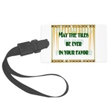 LetterTiles Luggage Tag