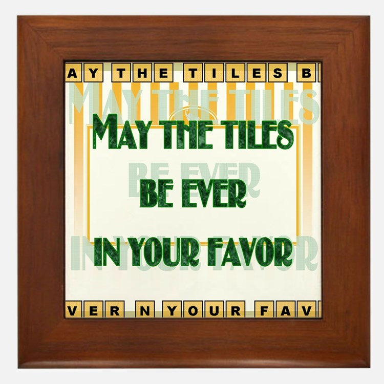LetterTiles Framed Tile
