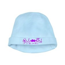 WALLEYE GIRL baby hat
