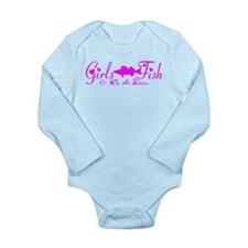 WALLEYE GIRL Long Sleeve Infant Bodysuit