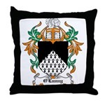 O'Lunny Coat of Arms Throw Pillow