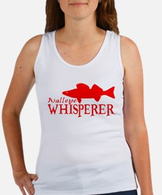WALLEYE WHISPERER Women's Tank Top