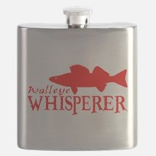 WALLEYE WHISPERER Flask