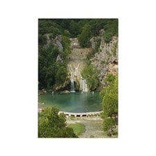 Turner Falls Rectangle Magnet