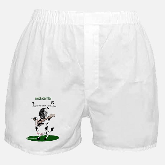 Bruce Holstein Born In The USDA Boxer Shorts