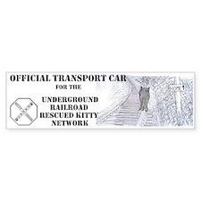 Official Transport Car Bumper Sticker
