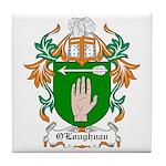 O'Loughnan Coat of Arms Tile Coaster