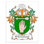 O'Loughnan Coat of Arms Small Poster