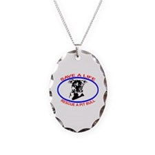 SAVE A LIFE RESCUE A PIT BULL Necklace