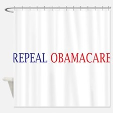 Repeal Obamacare Shower Curtain