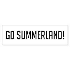 Go Summerland Bumper Bumper Sticker