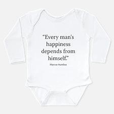 Meditations Book 2 Part 3 Long Sleeve Infant Bodys
