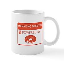 Managing Director Powered by Doughnuts Mug