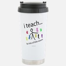 teach4them.png Stainless Steel Travel Mug