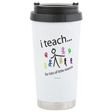 teach4them.png Travel Mug
