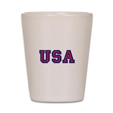 USA Logo Shot Glass