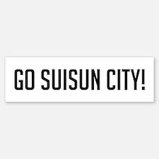 Go Suisun City Bumper Bumper Bumper Sticker