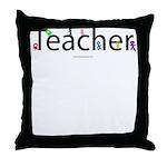 teacher.png Throw Pillow