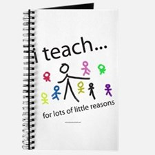 Cute Reasons to be a teacher Journal