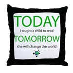 today_read.png Throw Pillow