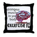 brain.png Throw Pillow